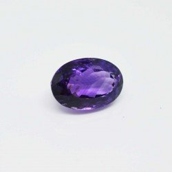 14.45 cts Natural Amethyst Oval Shape