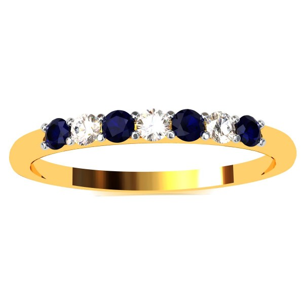 Blue Sapphire Casual Ring