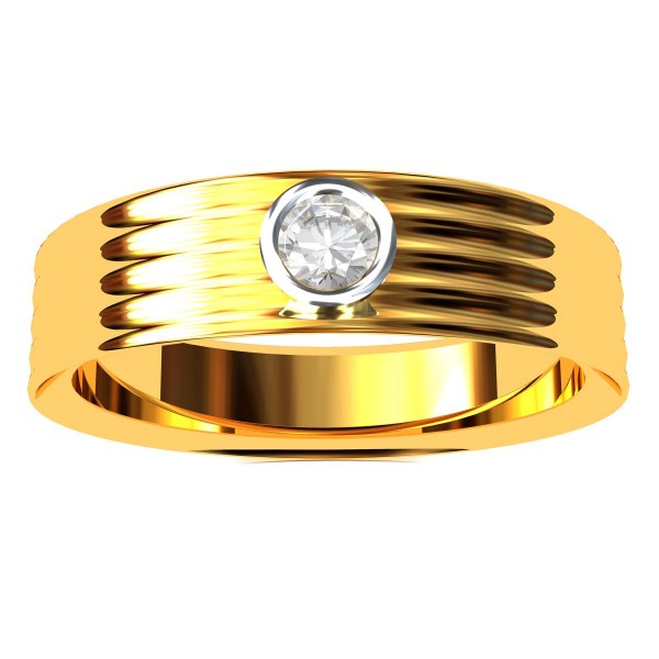 Solitaire Engagement Band Rings