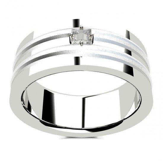 White Gold Rings for Men