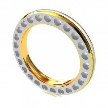 Love Band Rings in Gold