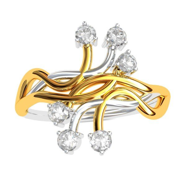 Spirus American Diamond Ring