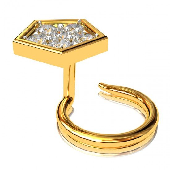 Nose Pin Gold for Women