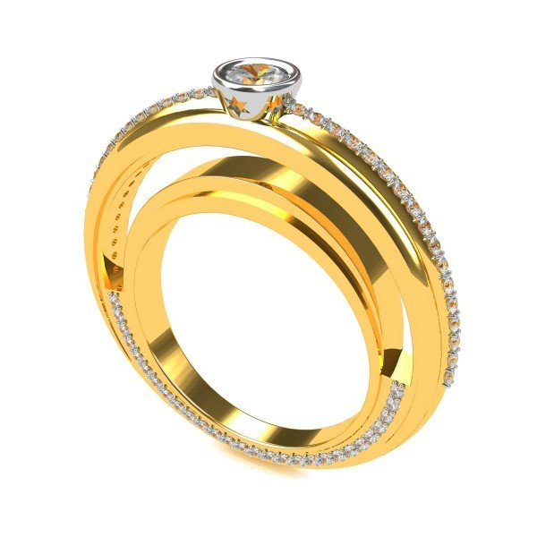 Single Solitaire Engagement Rings