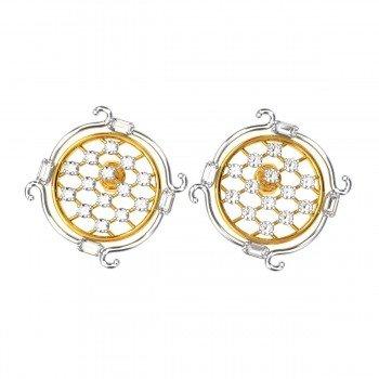 Ladies Gold Earrings