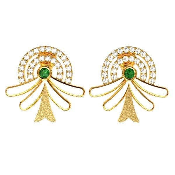 Gemstone Jewelry Earring