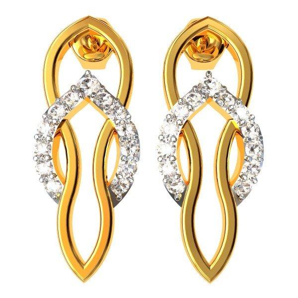 Women Gold Earrings