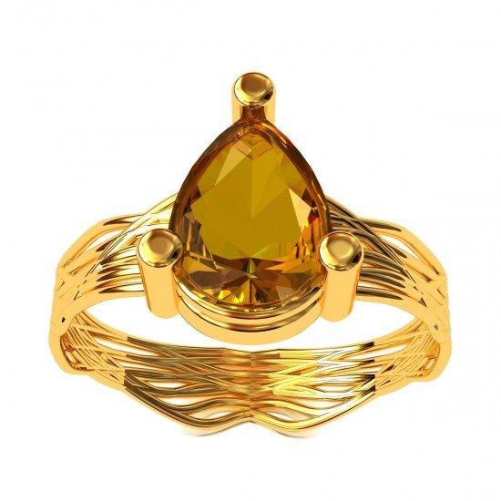 Shelly Topaz Ring