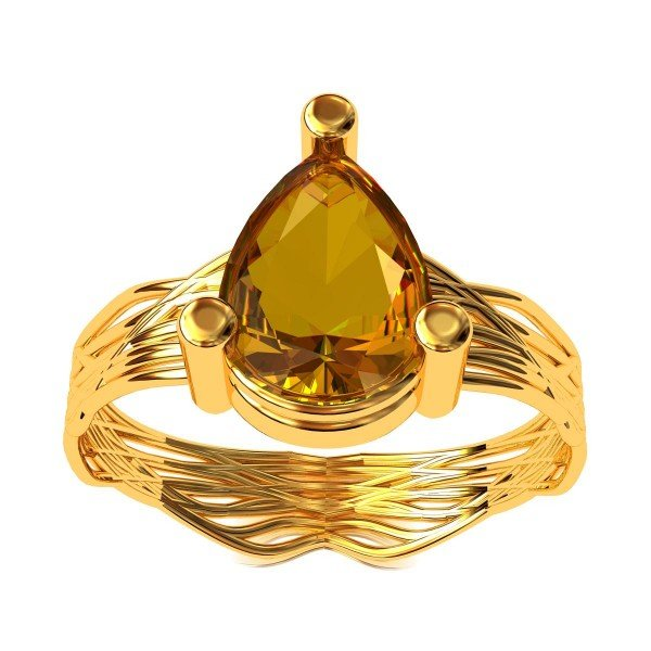 Shelly Topaz Ring