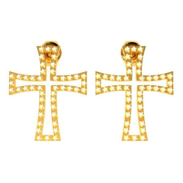 Star Christ Earring