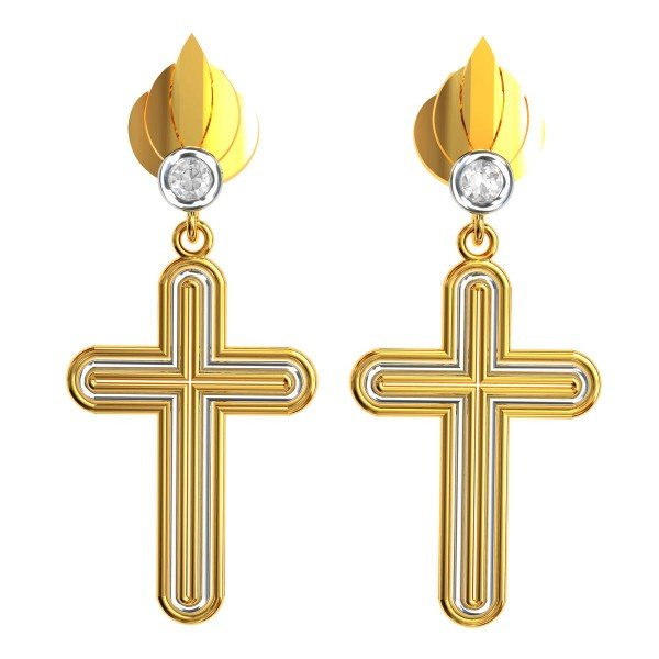 Christ Dangling Earring