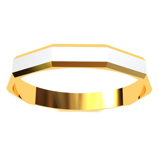 Band Rings Gold