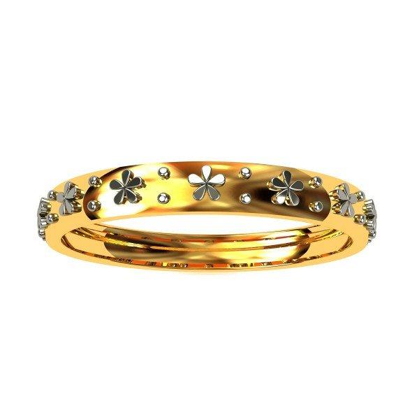 Ladies Gold Band Ring