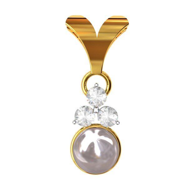 Pearl Pendant For Girls