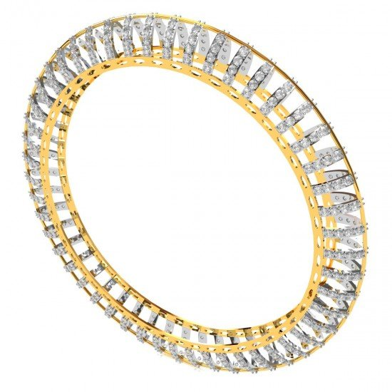Designer Diamond Bangle