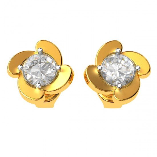 Small Gold Earring Design