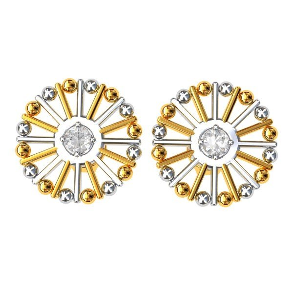 Small American Diamond Earring
