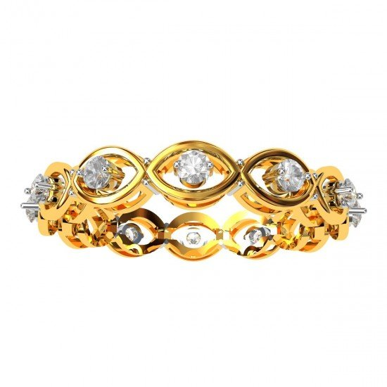American Diamond Bands For Her