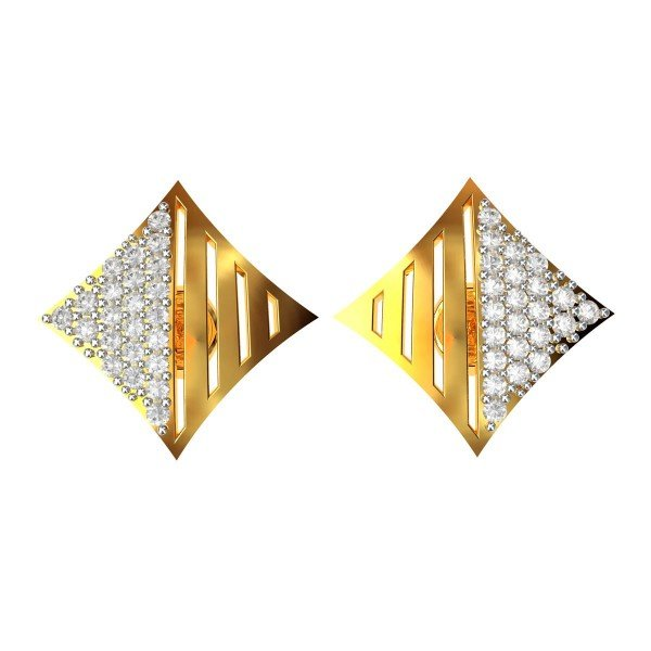 Latest American Diamond Earrings Design