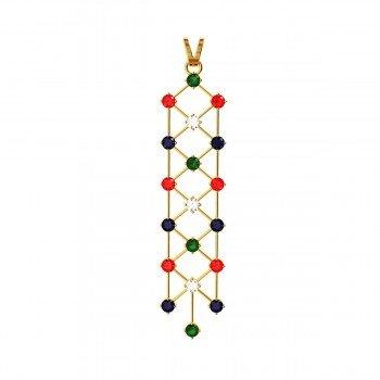 Multi-Color Pendant