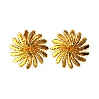 Ladies Gold Earring
