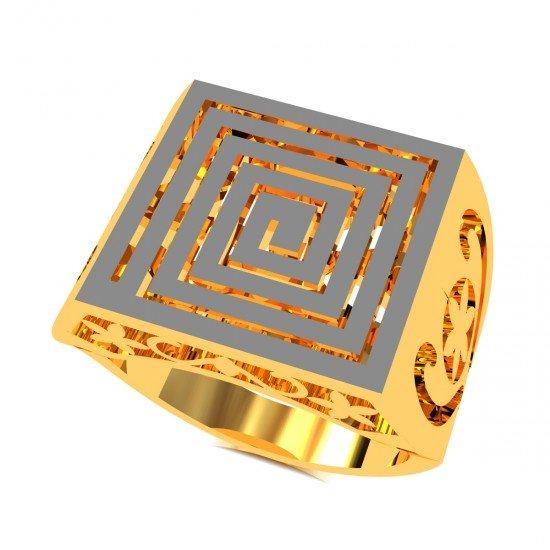 Enamel Cocktail Ring