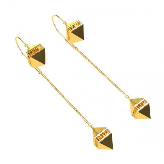 The Temple Box Earring