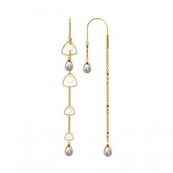 Simple Sui Dhaga Earrings