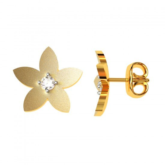 Small Gold Earring