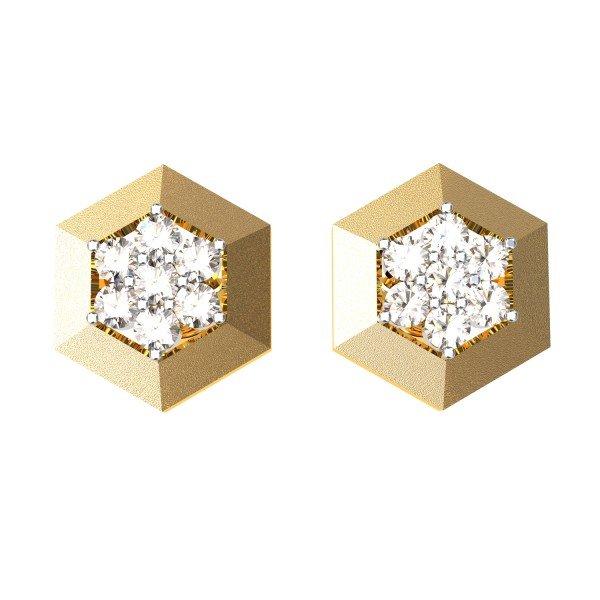 Gold Jewellery Earrings