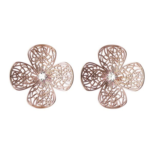 Rose Gold Earrings India
