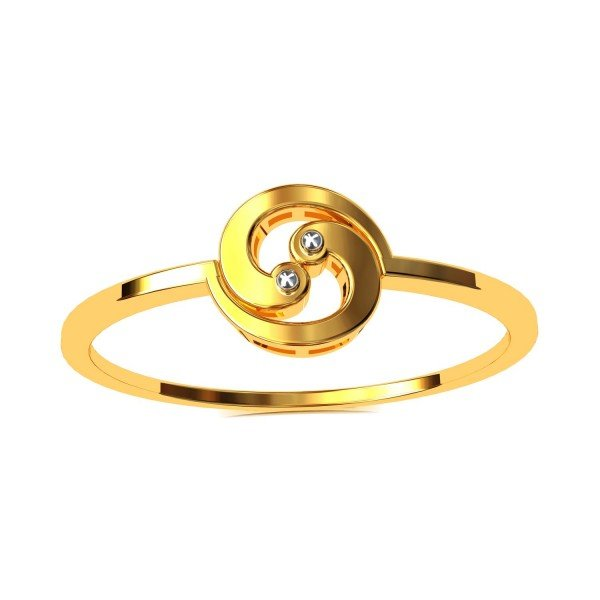 The Pahi Pure Gold Casual Ring