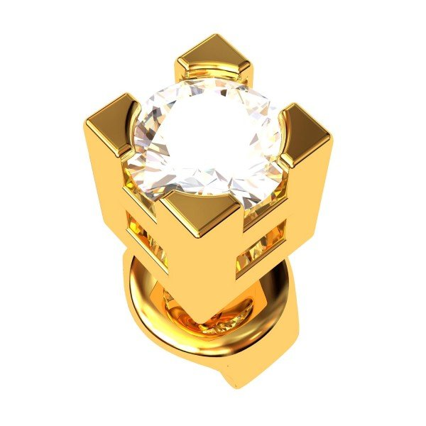 Gold Ear Ring For Men