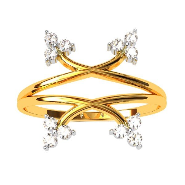 Trangle Promise Ring
