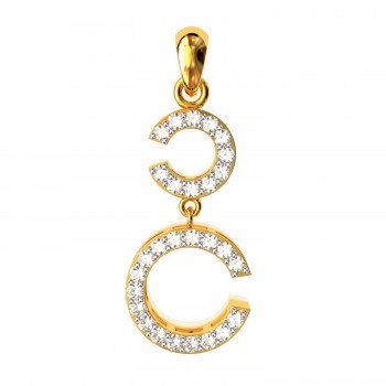 The Chilka Gold Pendent