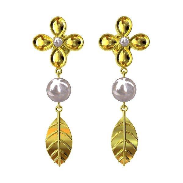 Pearl Dangling Earring