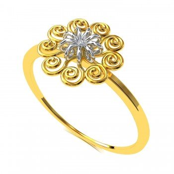 Sprial Gold Rings