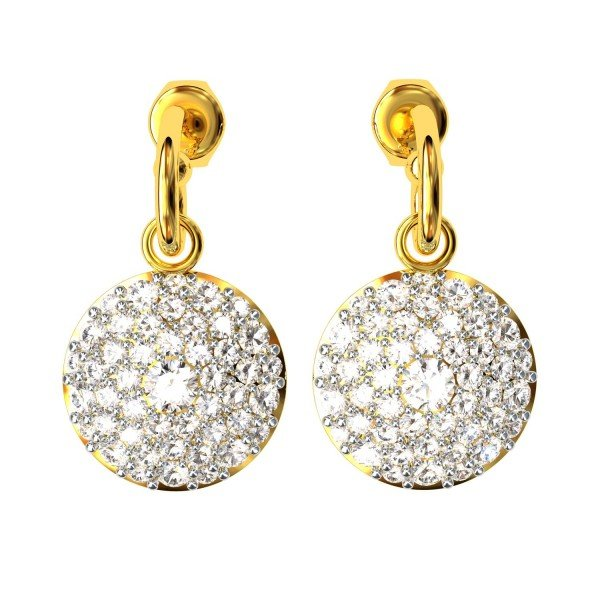 Stylish American Diamond Earrings