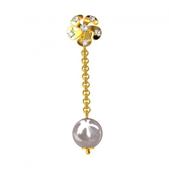 Flower Dangling Earring