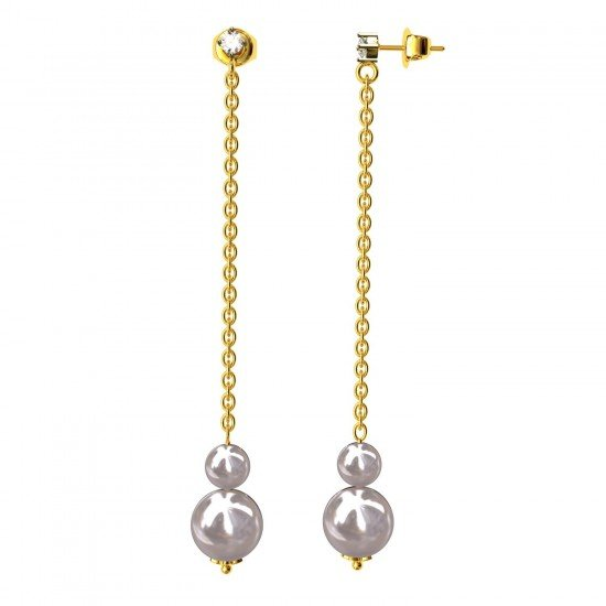 Solitaire Dangling Earring