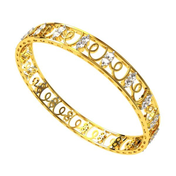 Stylish Diamond Bangle