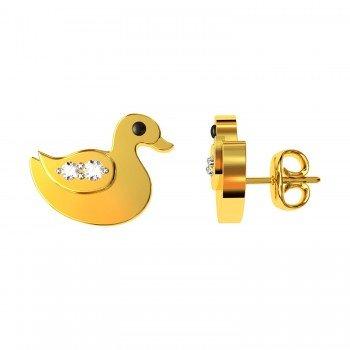 Duck Earring