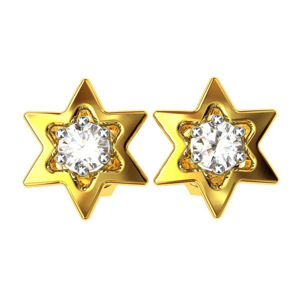 Star American Diamond Earring
