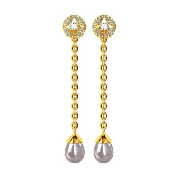 Changeable Tops Dangling Earring