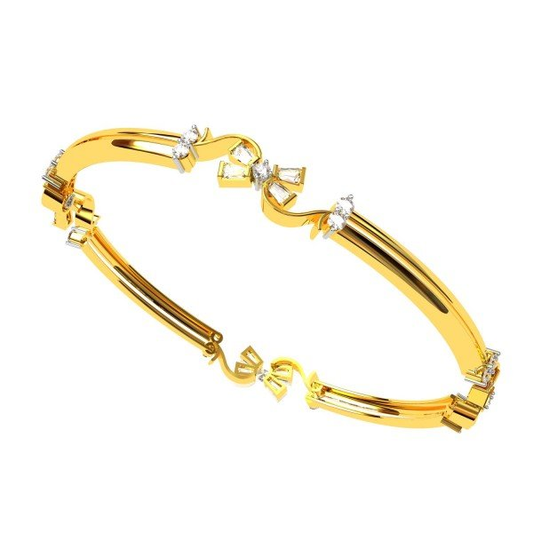 Beautifully Handcrafted Diamond Bangles