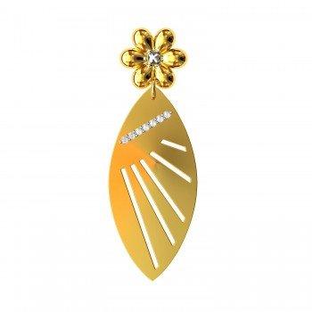 Flower Gold Pendant
