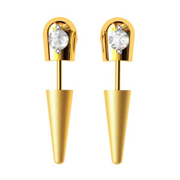 Earring Gold Tops
