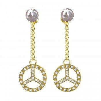 Changeable Pearl Earrings