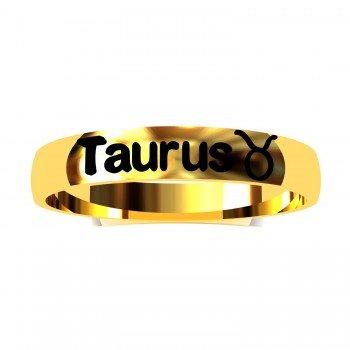 Taurus Zodiac Sign Ring