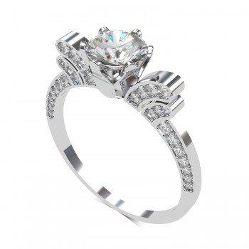 White Gold Finger Ring
